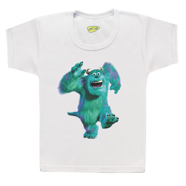تی شرت پسرانه کارانس طرح دانشگاه هیولاها مدل BT-273