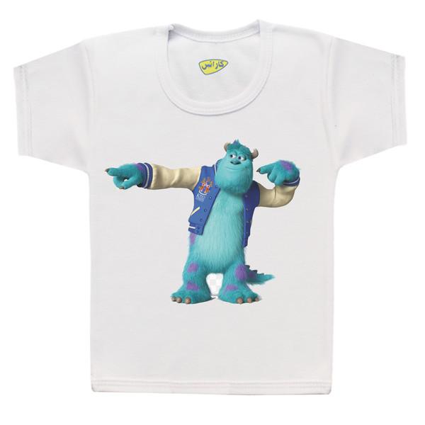 تی شرت پسرانه کارانس طرح دانشگاه هیولاها مدل BT-275