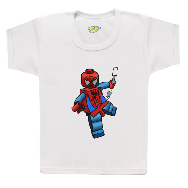 تی شرت پسرانه کارانس طرح مرد عنکبوتی مدل BT-276