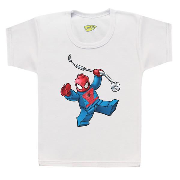 تی شرت پسرانه کارانس طرح مرد عنکبوتی مدل BT-279