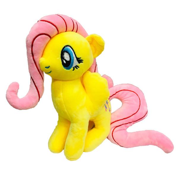عروسک طرح اسب پونی کد 4 ارتفاع 20 سانتی متر