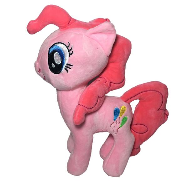 عروسک طرح اسب پونی کد 3 ارتفاع 20 سانتی متر
