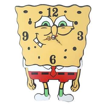 ساعت دیواری اتاق کودک طرح باب اسفنجی کد 1314