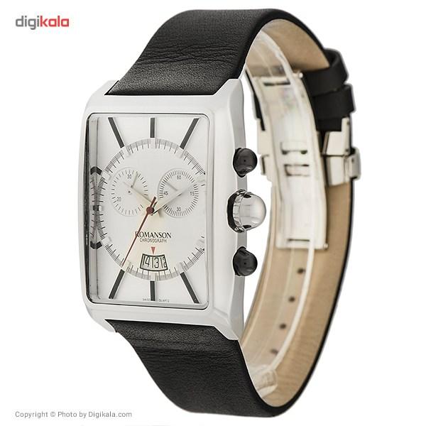 ساعت مچی عقربه ای مردانه رومانسون مدل TL8244HM1WA12W