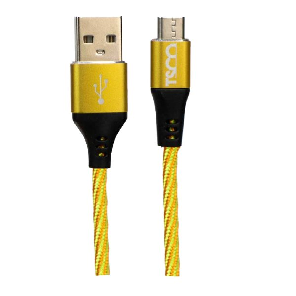 کابل تبدیل USB به microUSB تسکو مدل TC A93 طول 1 متر