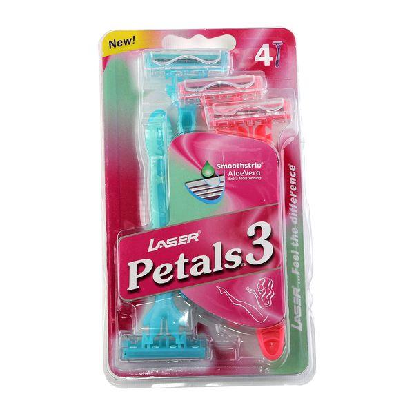 خود تراش لیزر مدل Petals بسته 4 عددی