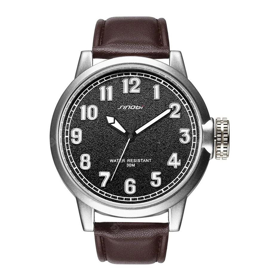 ساعت مچی عقربه ای مردانه سینوبی مدل S9608G BR