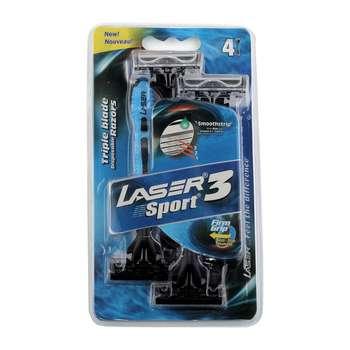 خود تراش لیزر مدل Sport بسته 4 عددی