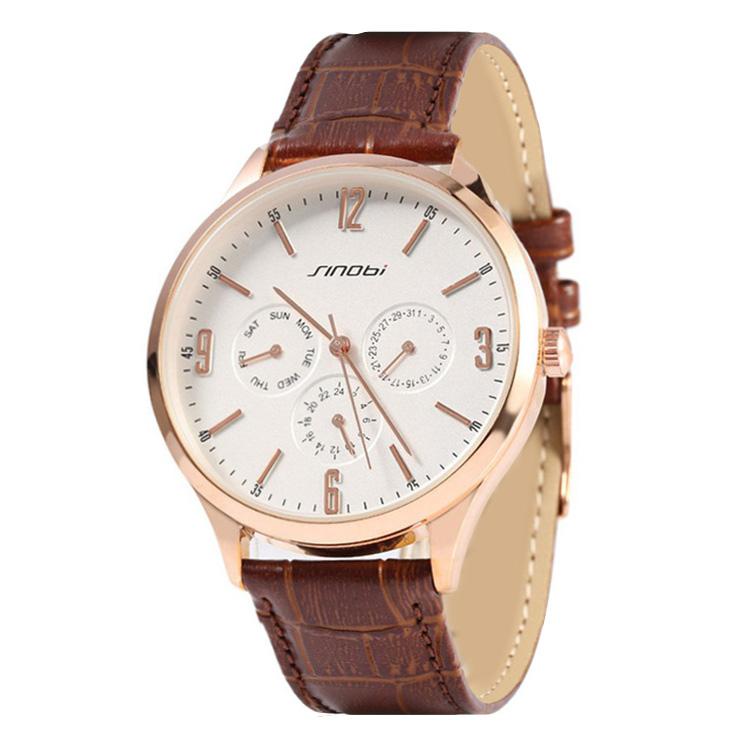 کد تخفیف                                      ساعت مچی عقربه ای مردانه سینوبی مدل  S9546G BR
