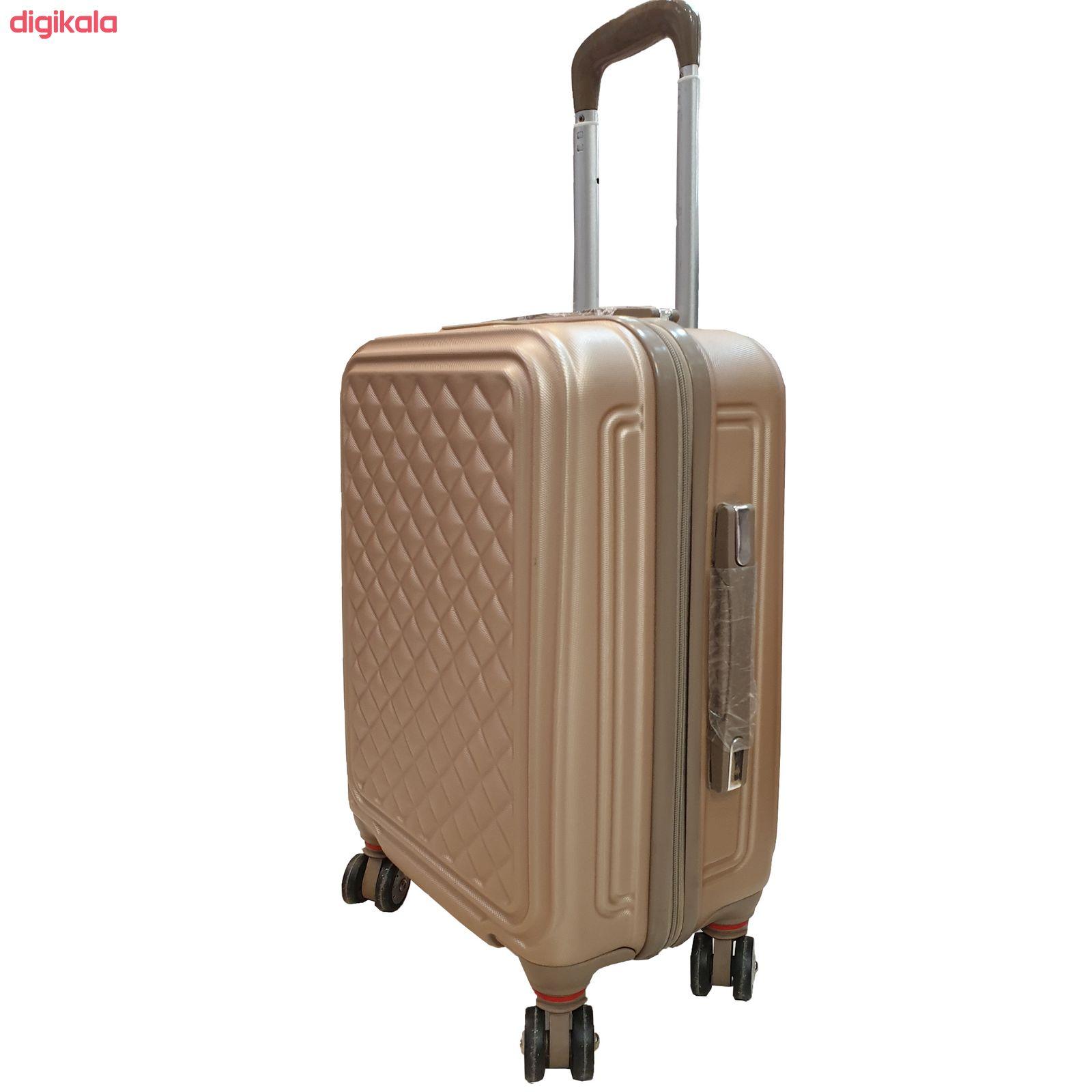 مجموعه چهار عددی چمدان کد B024  main 1 2