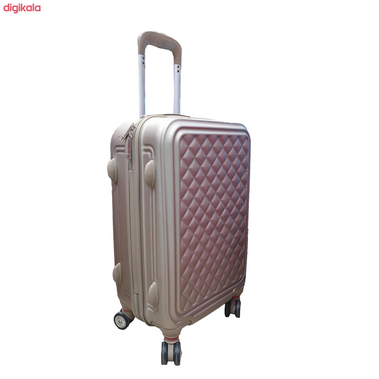 مجموعه چهار عددی چمدان کد B024  main 1 7
