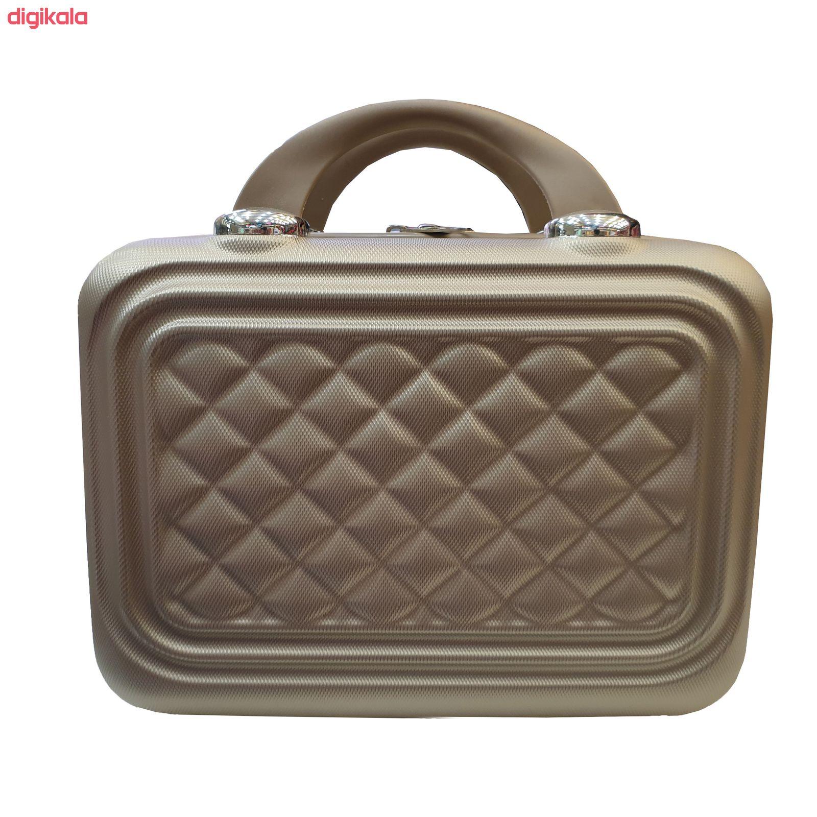 مجموعه چهار عددی چمدان کد B024  main 1 15