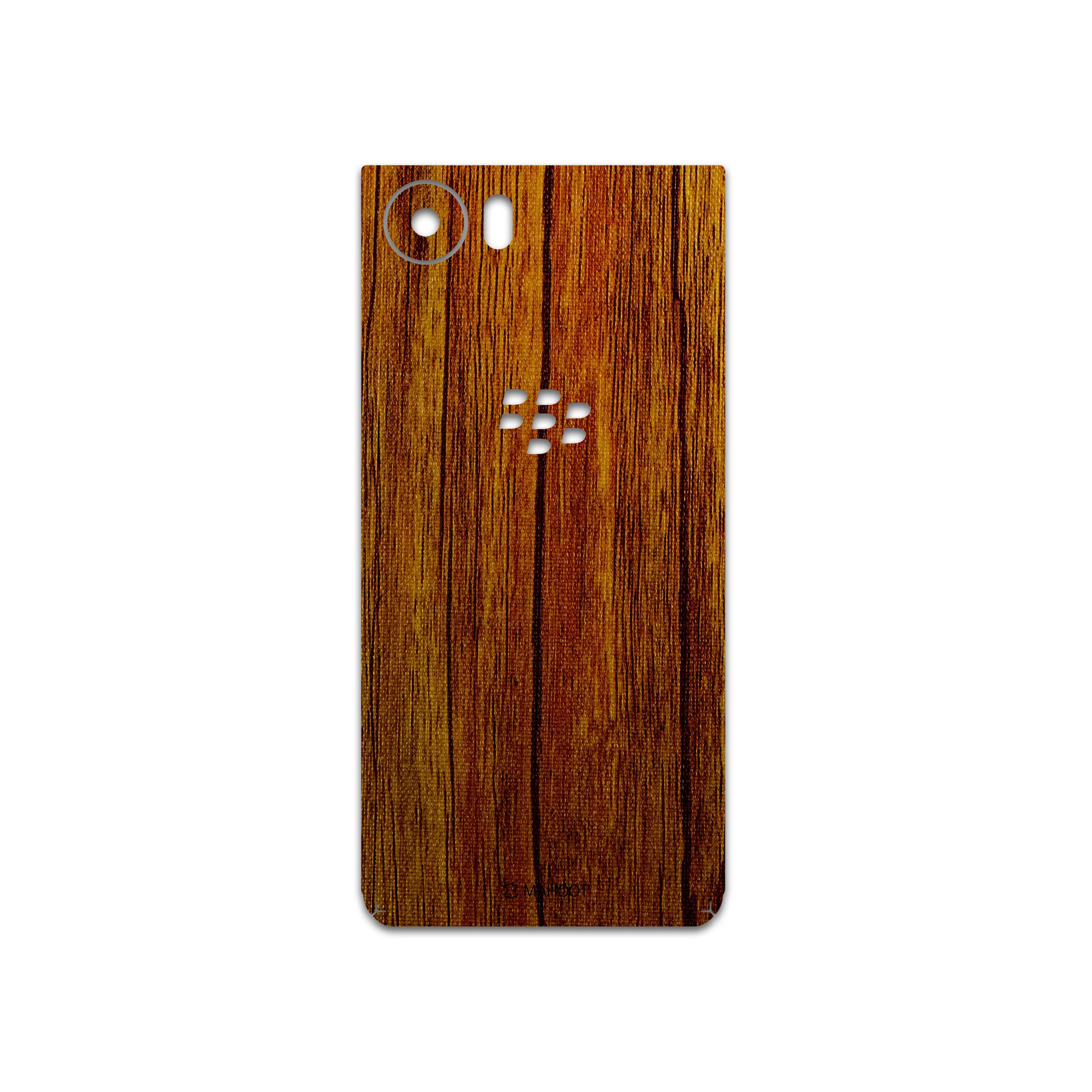 برچسب پوششی ماهوت مدل Orange-Wood مناسب برای گوشی موبایل بلک بری Keyone/DTEK70