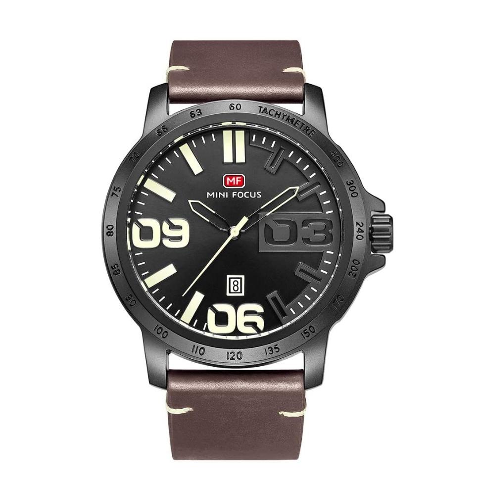 کد تخفیف                                      ساعت مچی عقربه ای مردانه مینی فوکوس مدل  MF0169G.01