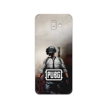 برچسب پوششی ماهوت مدل PUBG-Game مناسب برای گوشی موبایل سامسونگ Galaxy J6 Plus