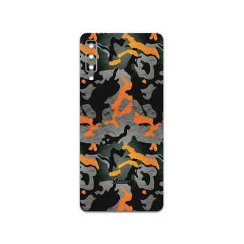 برچسب پوششی ماهوت مدل Autumn-Army مناسب برای گوشی موبایل سامسونگ Galaxy A7 2018