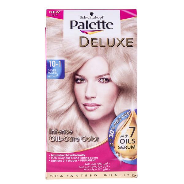 کیت رنگ مو پلت سری Deluxe مدل طلایی براق شماره 1-10