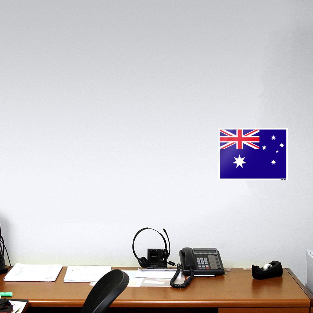 استیکر فراگراف FG طرح پرچم استرالیا مدل HSE 019