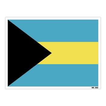 استیکر مستر راد طرح پرچم باهاما مدل HSE 022