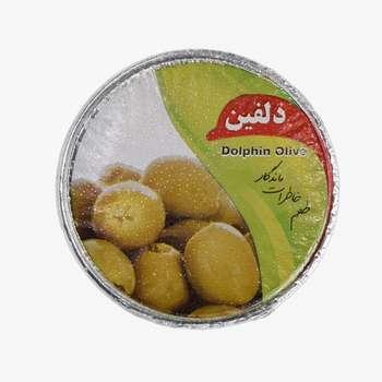 زیتون پرورده لبنانی دلفین - 75 گرم