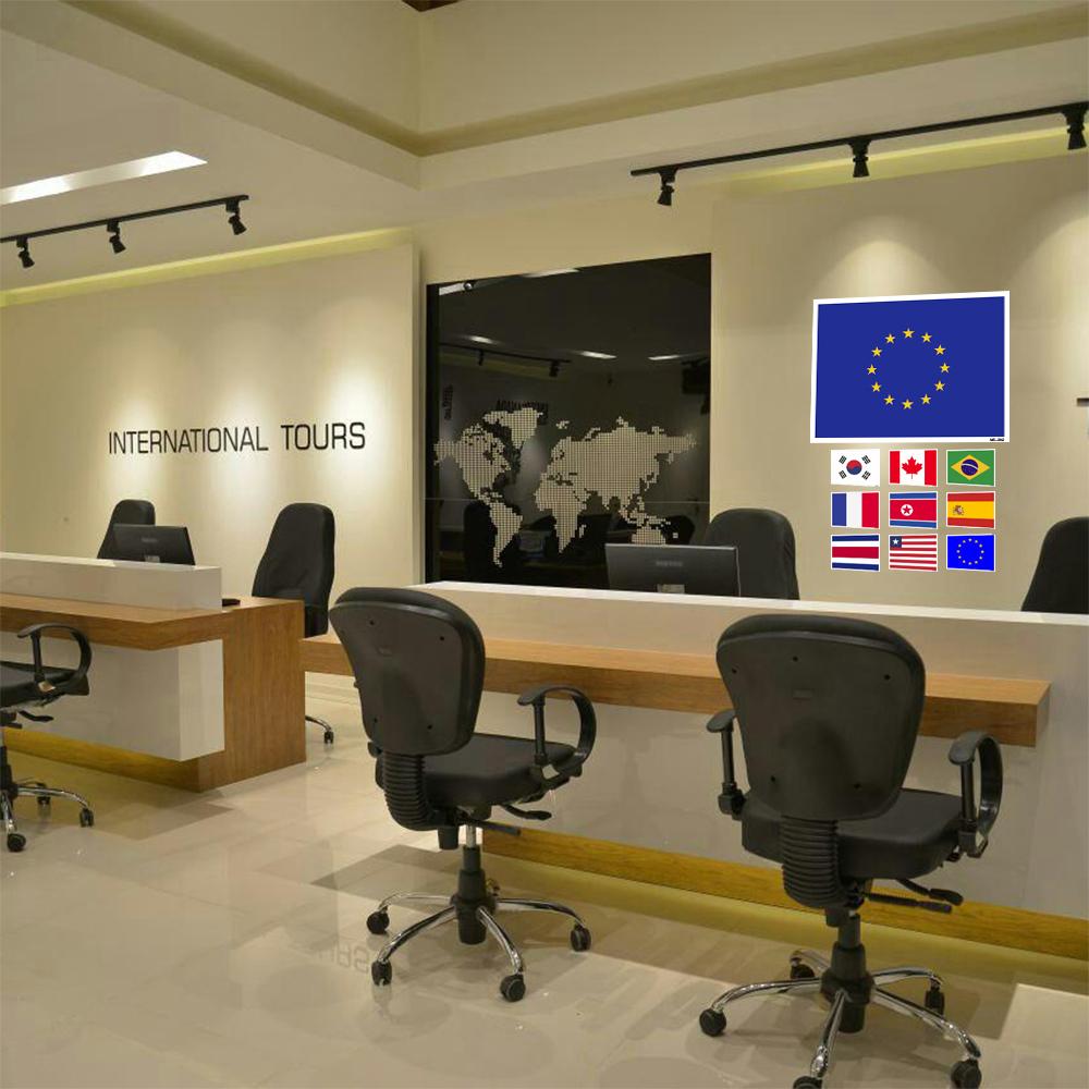 استیکر فراگراف FG طرح پرچم اتحادیه اروپا مدل HSE 087
