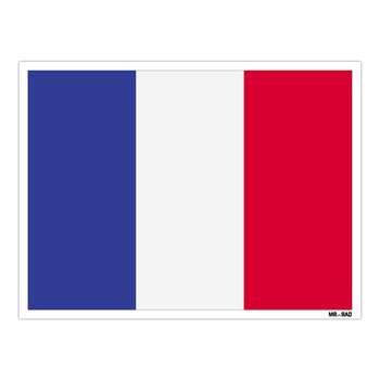 استیکر مستر راد طرح پرچم فرانسه مدل HSE 092