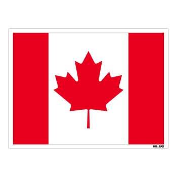 استیکر مستر راد طرح پرچم کانادا مدل HSE 049