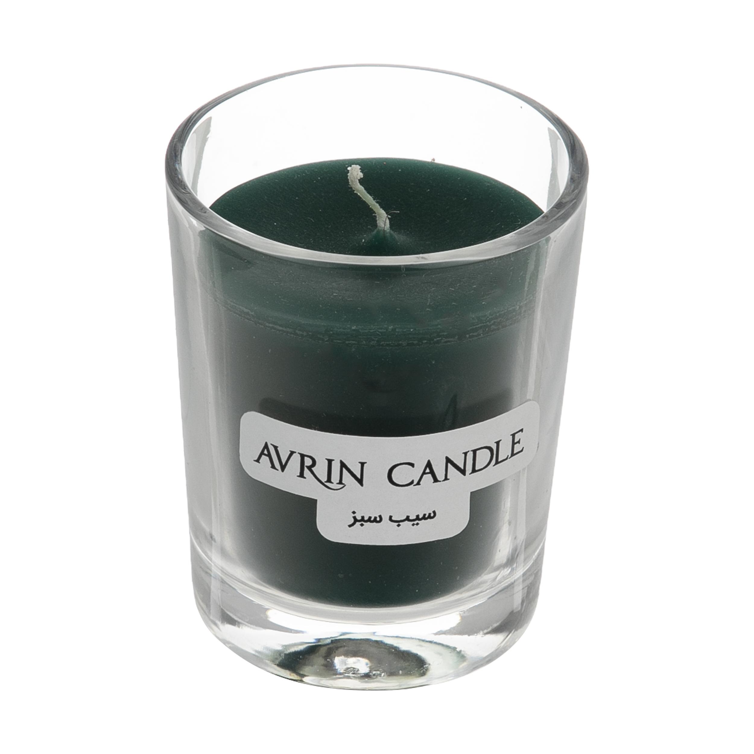 شمع اورین مدل سیب سبز