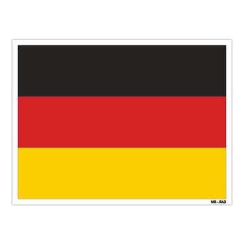 استیکر مستر راد طرح پرچم آلمان مدل HSE 098