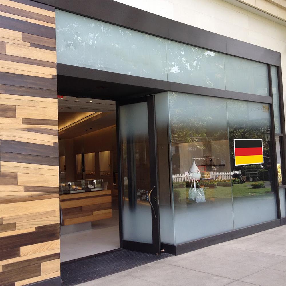 استیکر فراگراف FG طرح پرچم آلمان مدل HSE 098