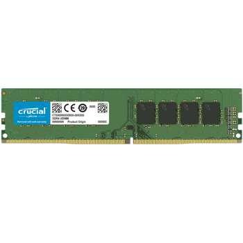 رم دسکتاپ DDR4 تک کاناله 2666  مگاهرتز کروشیال مدل CL19 ظرفیت 4 گیگابایت