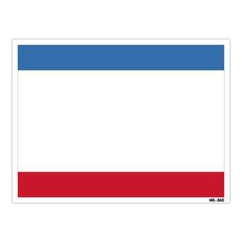 استیکر مستر راد طرح پرچم کریمه مدل HSE 067
