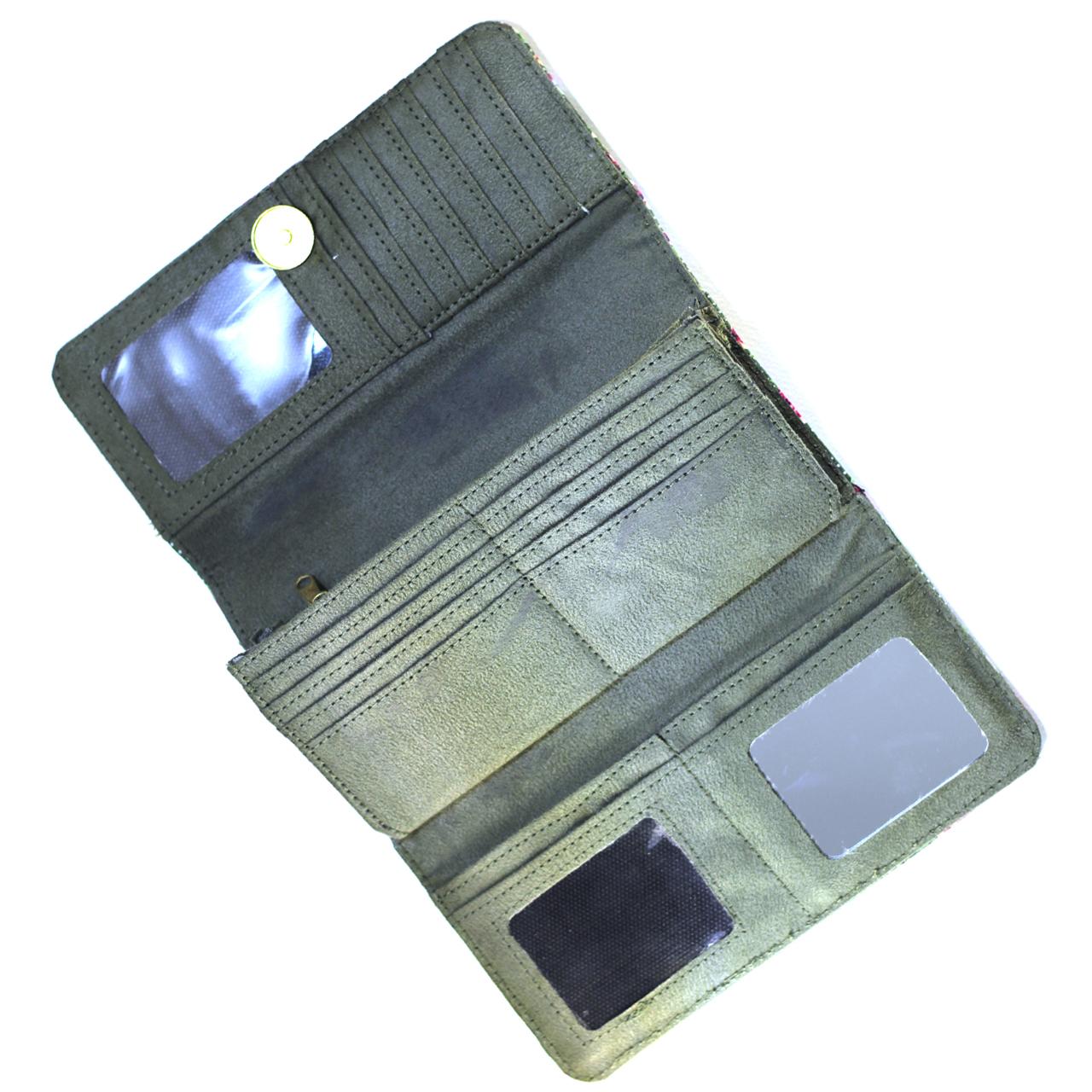 خرید                      کیف پول صنم مدل سارا کد 03