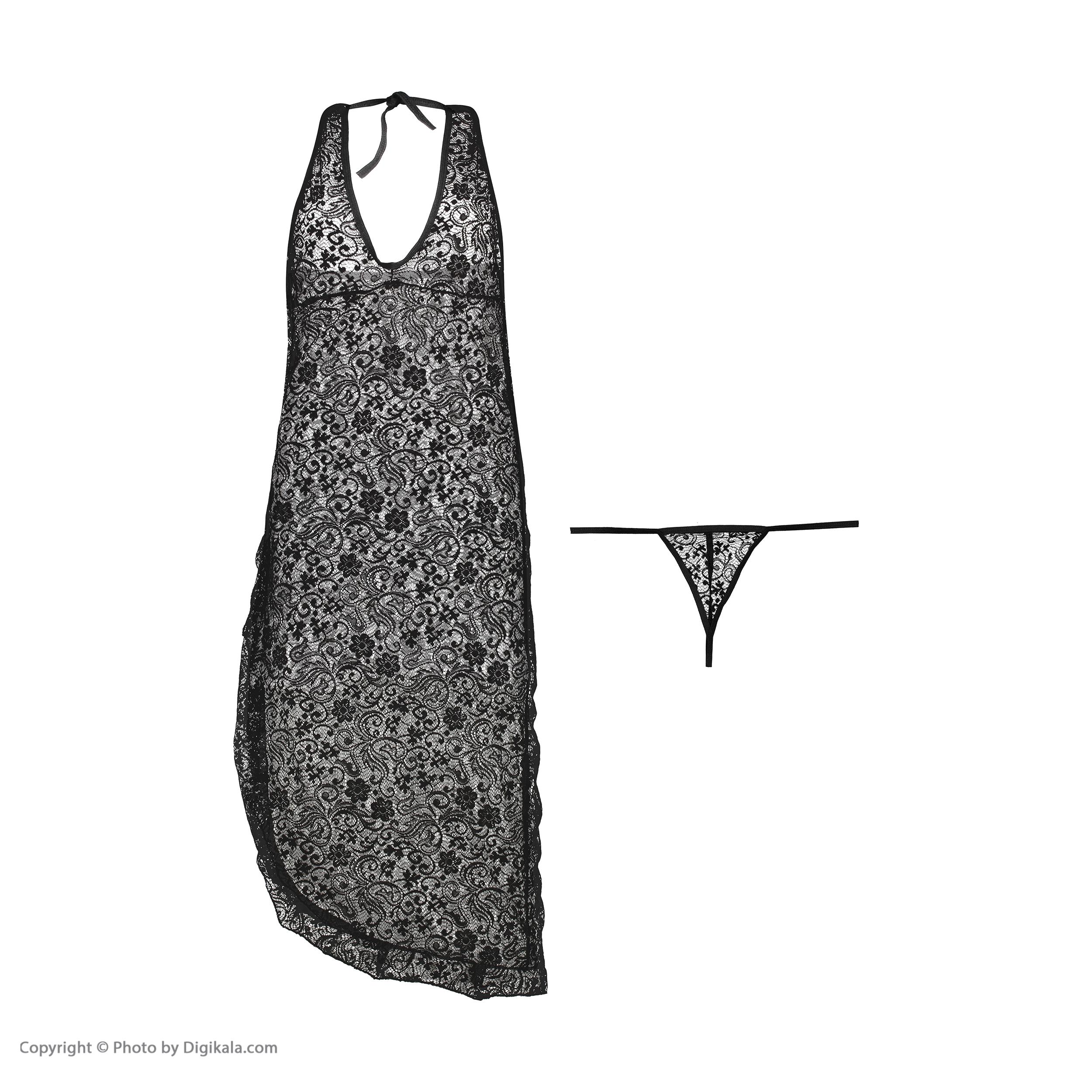 خرید                                      لباس خواب زنانه مدل کینو کد 999