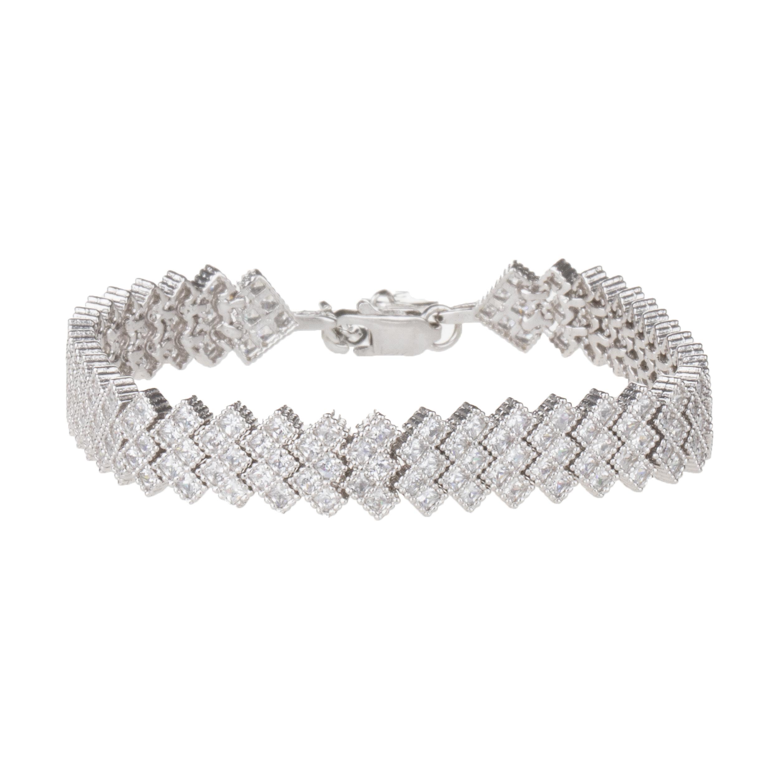 دستبند نقره زنانه سینانر کد SN-R083