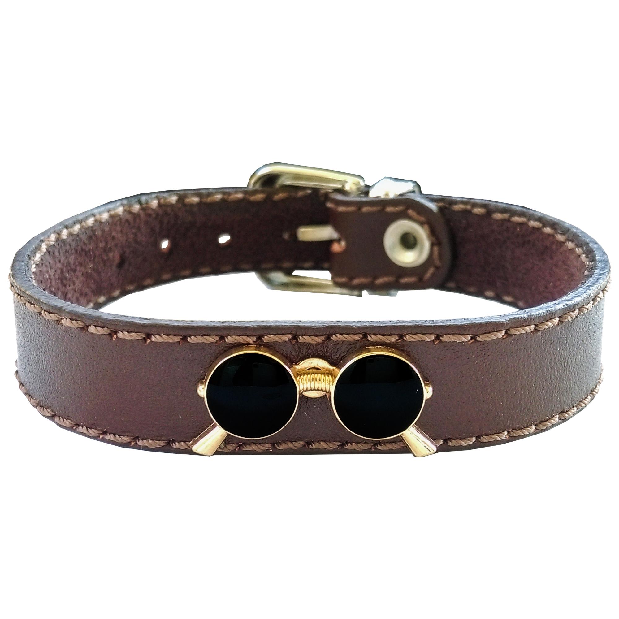 دستبند چرم وارک مدل پرهام کد rb58