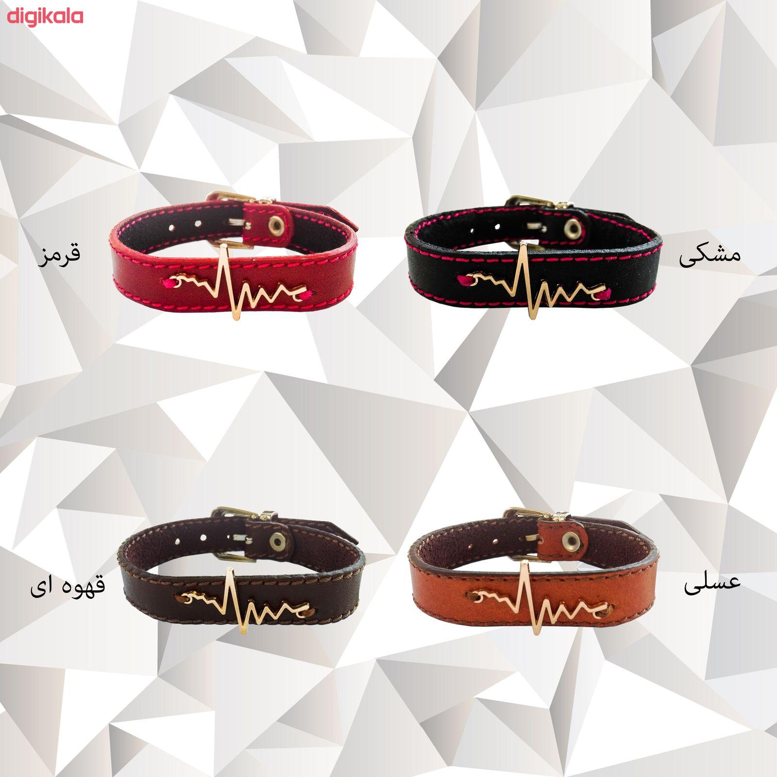 دستبند زنانه چرم وارک مدل پرهام کد rb59 main 1 7
