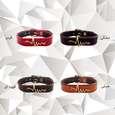 دستبند زنانه چرم وارک مدل پرهام کد rb59 thumb 7