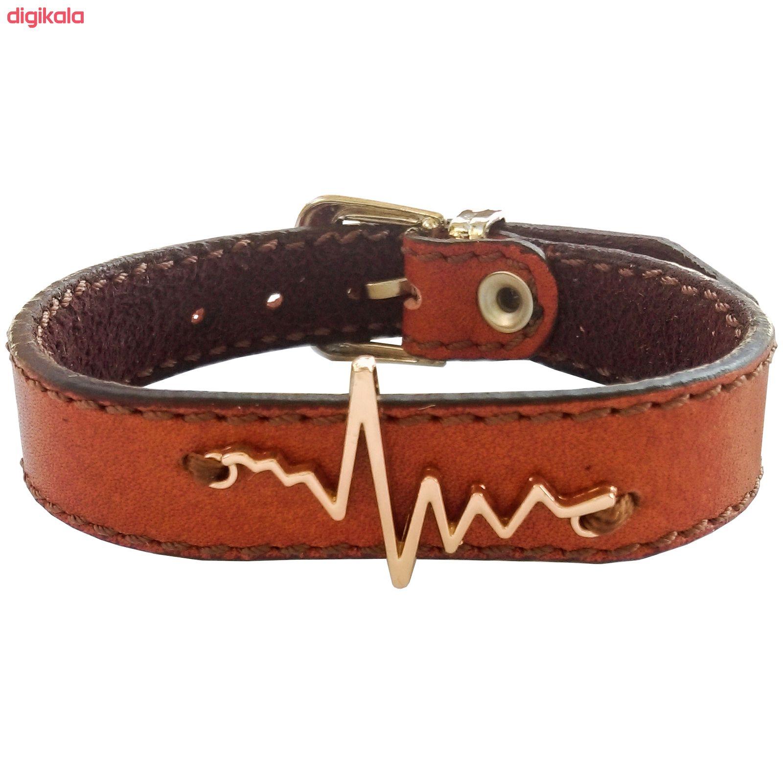 دستبند زنانه چرم وارک مدل پرهام کد rb59 main 1 4