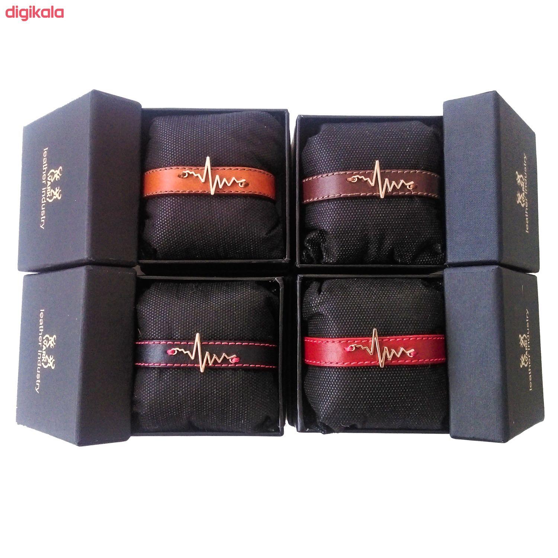 دستبند زنانه چرم وارک مدل پرهام کد rb59 main 1 12