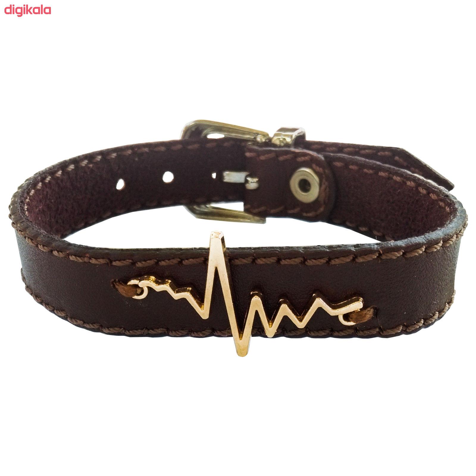 دستبند زنانه چرم وارک مدل پرهام کد rb59 main 1 3