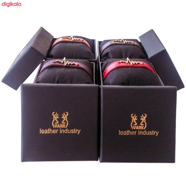 دستبند زنانه چرم وارک مدل پرهام کد rb59 main 1 13