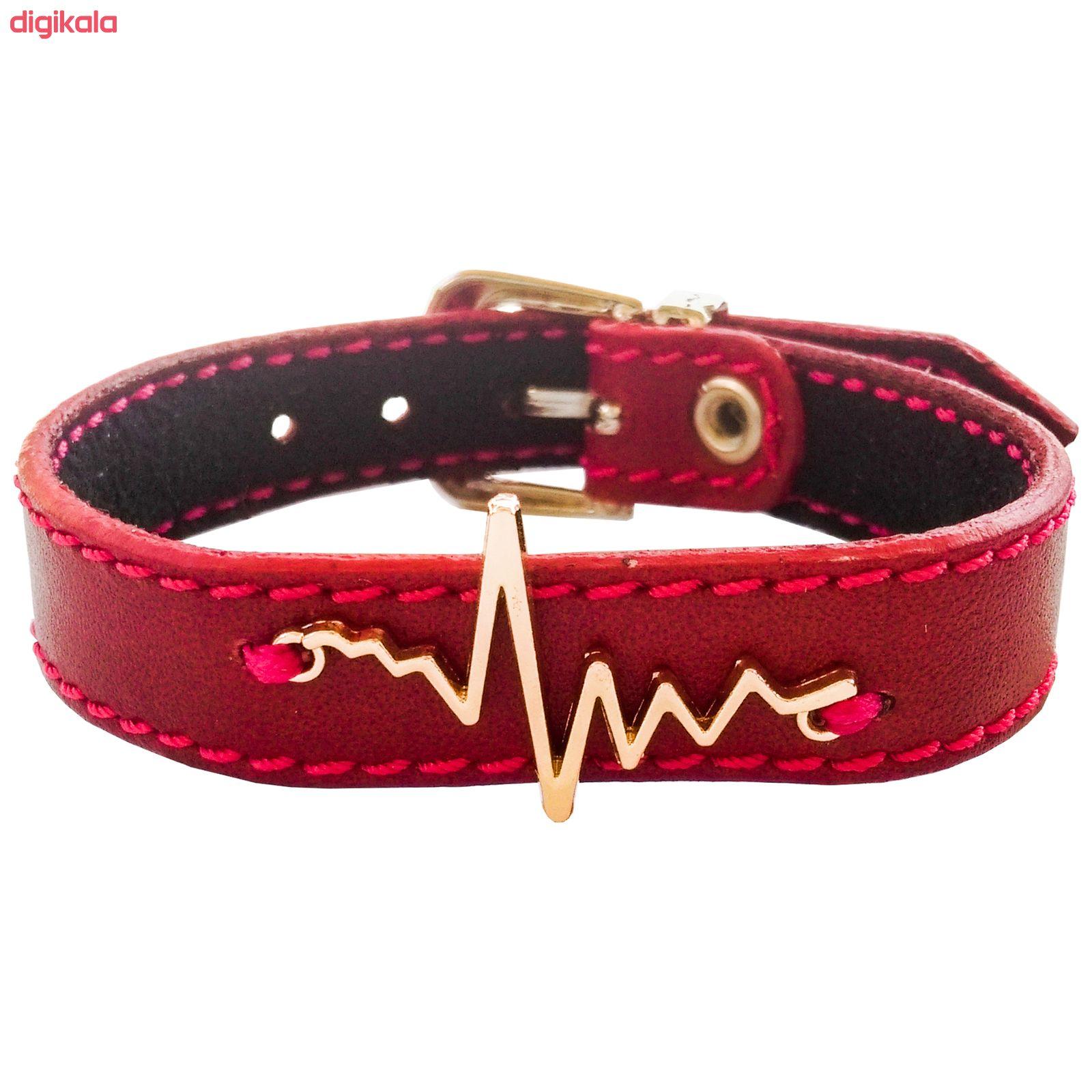 دستبند زنانه چرم وارک مدل پرهام کد rb59 main 1 2