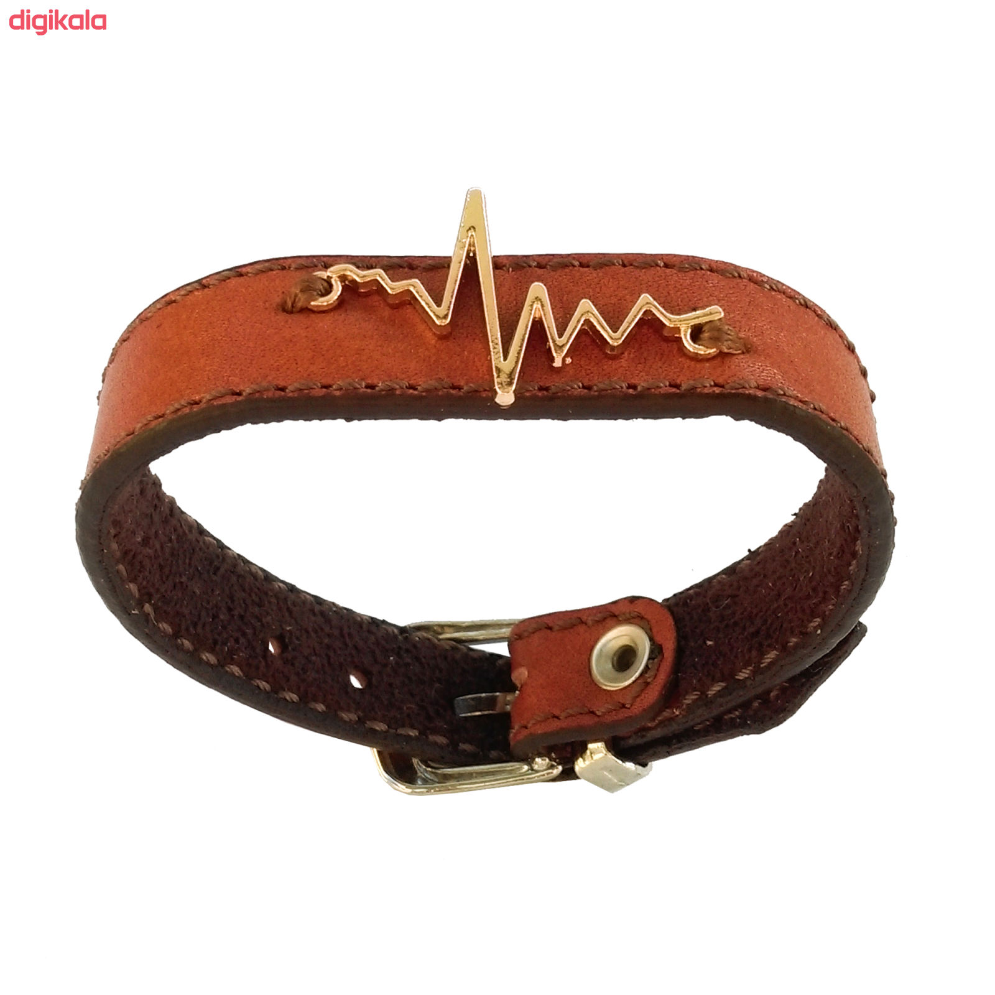 دستبند زنانه چرم وارک مدل پرهام کد rb59 main 1 16