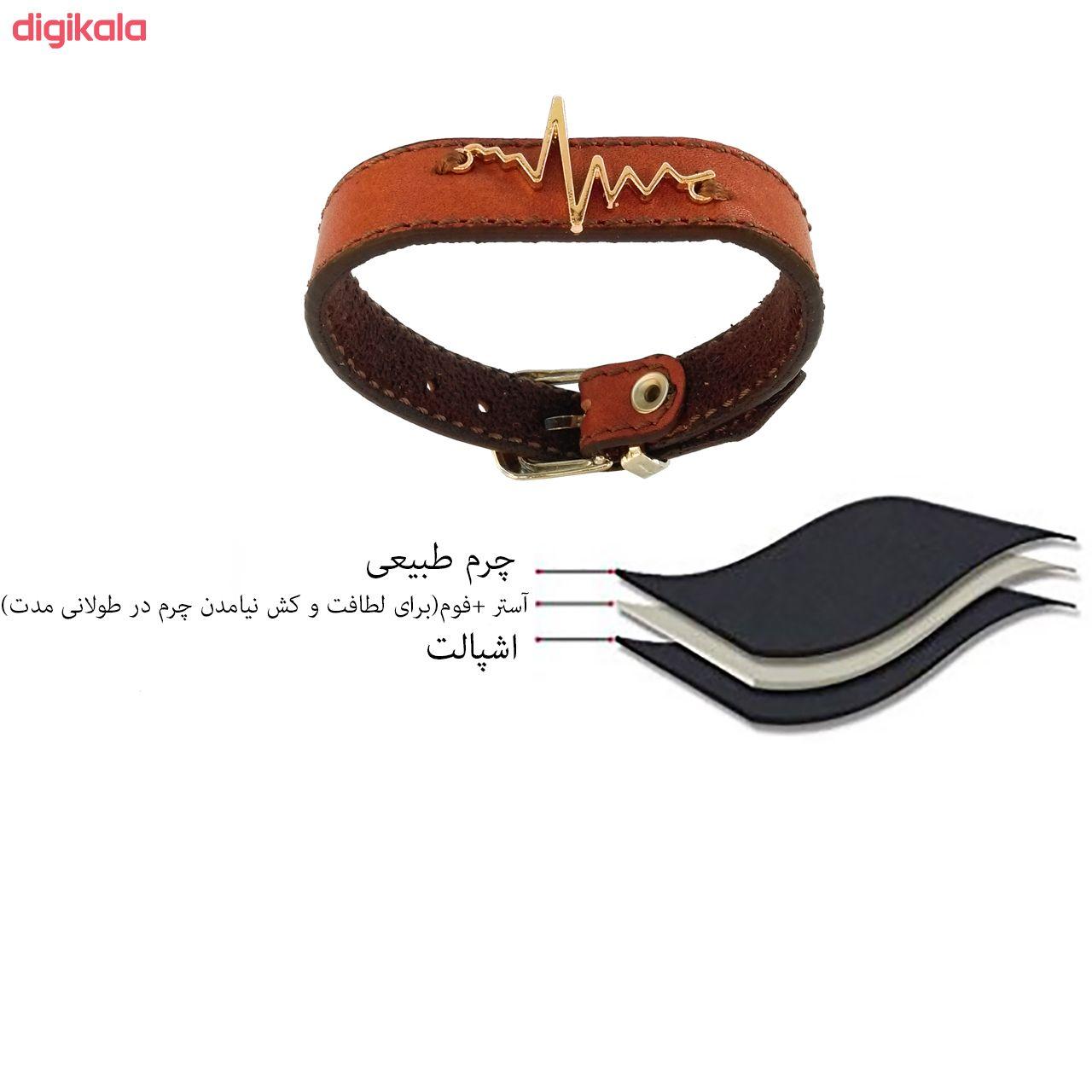 دستبند زنانه چرم وارک مدل پرهام کد rb59 main 1 10