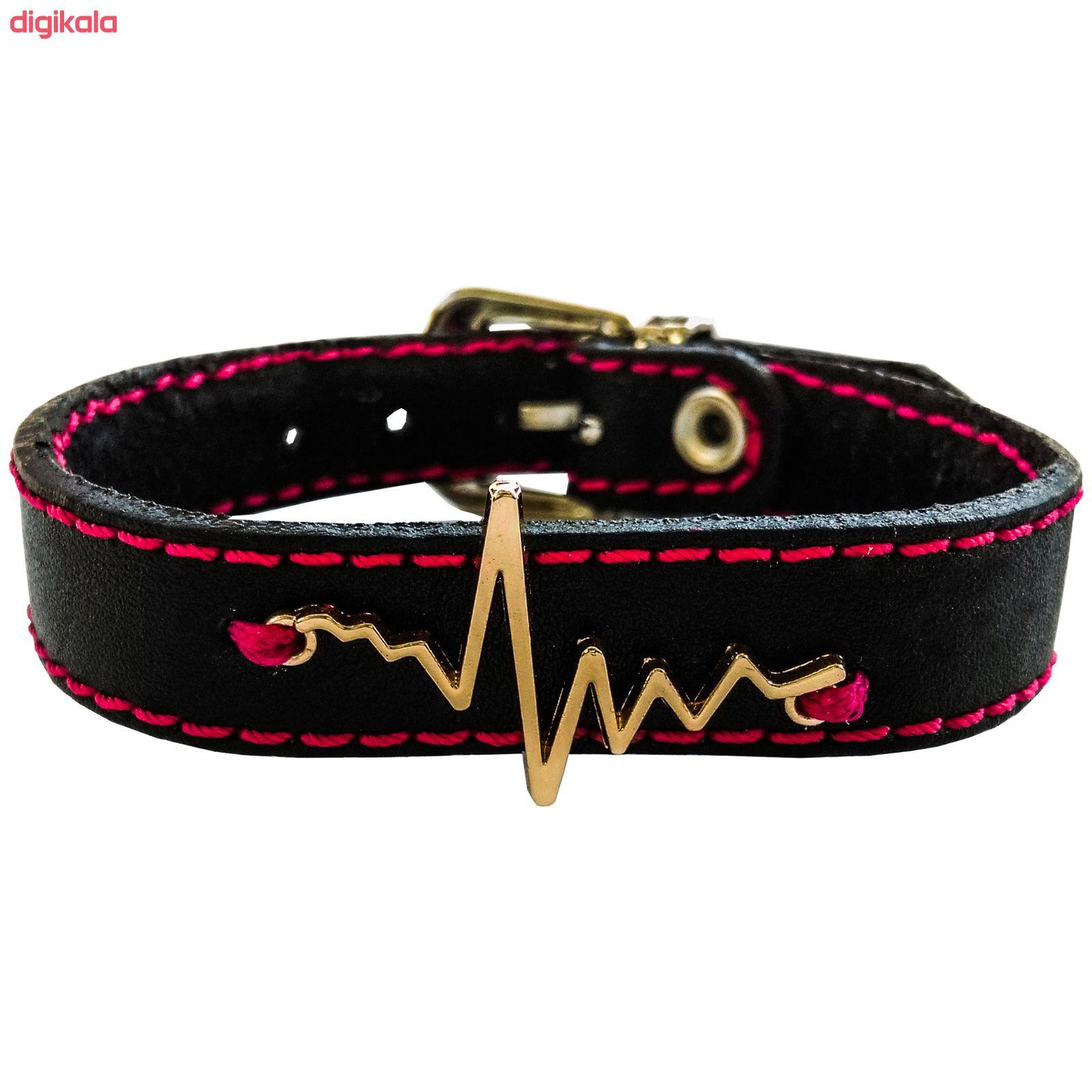 دستبند زنانه چرم وارک مدل پرهام کد rb59 main 1 1
