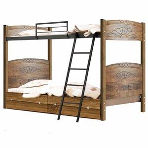 تخت خواب دو طبقه کد MO03 سایز 90x200 سانتیمتر