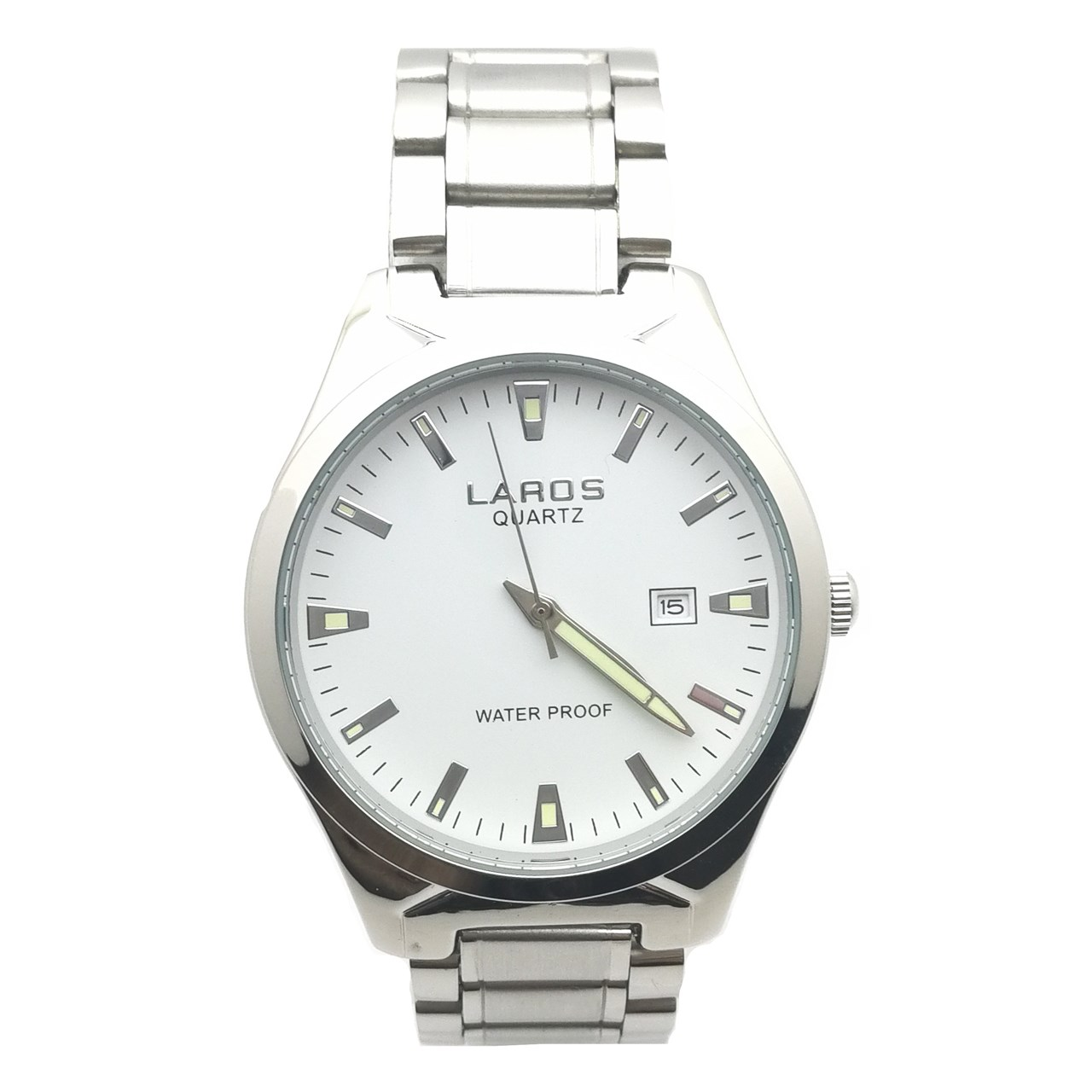 ساعت  لاروس مدل LM-N372-White