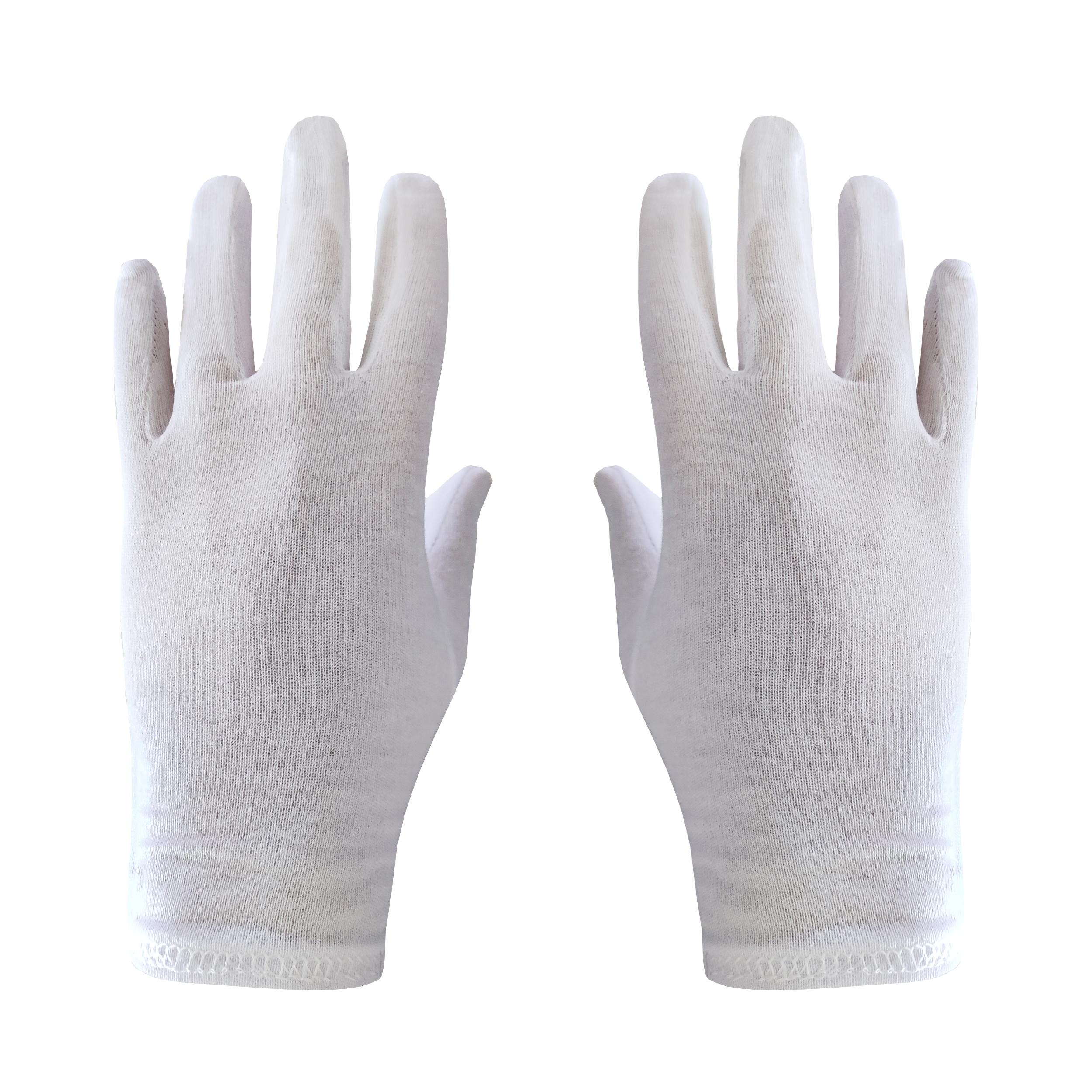 دستکش مدل TSA رنگ سفید