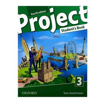 کتاب Project 3 اثر Tom Hutchinson and Diana Pye انتشارات Oxford